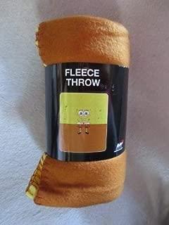 Spongebob Square Pants Fleece Throw 50in x 60in