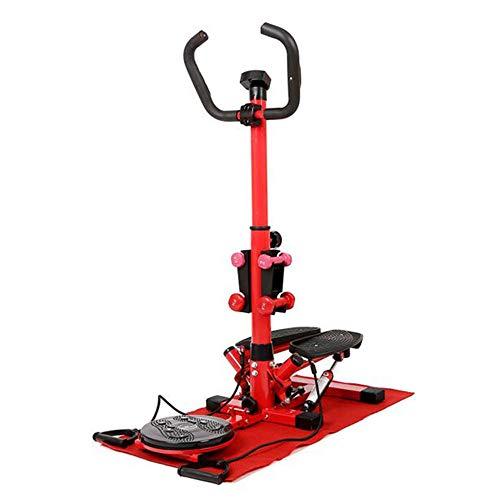 YSYSZYN Stepper Hometrainer Stepper met verstelbare weerstand en draadloze trainingscomputer - up-down stepper