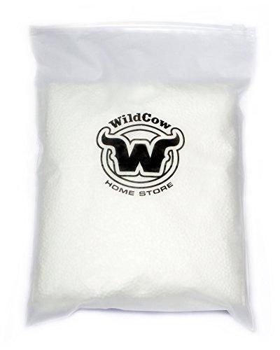 Small Foam Balls, Polystyrene Craft Balls for Kids' Slime - 3 Pack White, Total 42000 Foam Beads