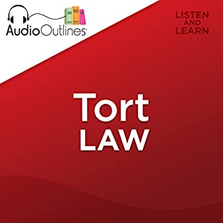 Tort Law     Developed for Law School Exams and the Multistate Bar              By:                                                                                                                                 AudioOutlines                               Narrated by:                                                                                                                                 Rafi Nemes J.D.                      Length: 3 hrs and 31 mins     35 ratings     Overall 4.5