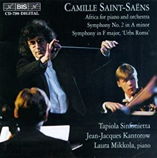 Africa for Piano & Orch by C. Saint-Saens