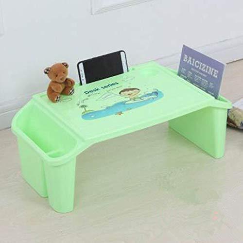 Yuqianqian Ergonomique composé d'Un Bureau et d'Une Chaise Enfants Les Enfants Activité Enfant Table à Manger intérieure Table de Jeu for 2-8 Ans pour Etude Travail (Color : Green, Size : Free Size)
