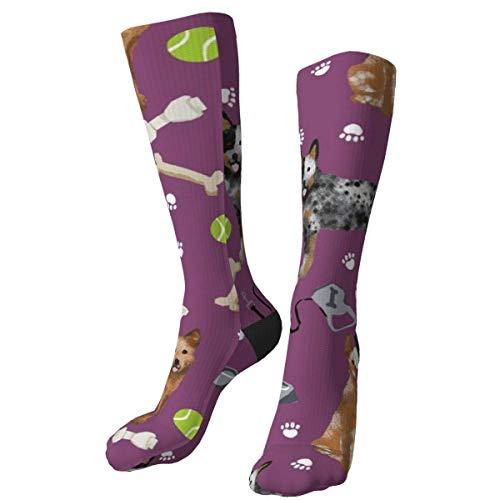 iuitt7rtree - American Football-Socken für Mädchen in Multi, Größe Einheitsgröße
