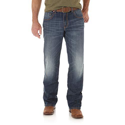 Wrangler Herren Retro Relaxed Fit Boot Cut Jeans - Blau - 34W / 32L