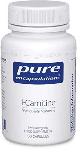 Pure Encapsulations - L-Carnitine 340mg - High Quality L-Carnitine - Bioavailable Amino Acid - 60 Vegetarian Capsules