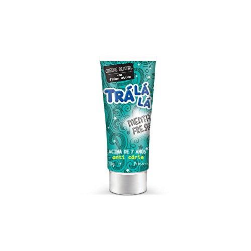 Creme Dental Menta Fresh, Trá Lá Lá Kids, Verde Metálico, 70 g