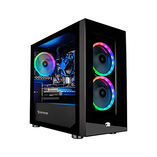 iBUYPOWER Gaming PC Computer Desktop Element Mini 9300 (AMD Ryzen 3 3100 3.6GHz, AMD Radeon RX 550 2GB, 8GB DDR4 RAM, 240GB SSD, Wi-Fi Ready, Windows 10 Home)