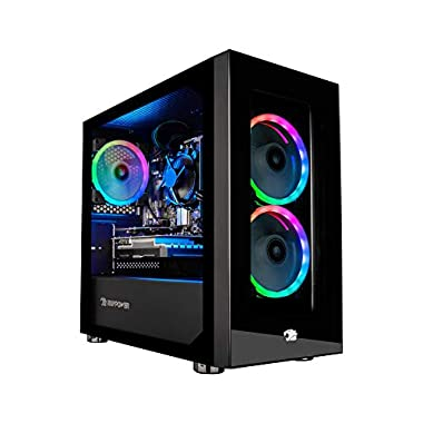 iBUYPOWER Pro Gaming PC Computer Desktop Element Mini 167A (AMD Ryzen 5 3600 3.6GHz, NVIDIA GeForce GT 730 2GB, 8GB DDR4…
