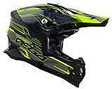 Vega Helmets 32099-015 Unisex-Adult Off-Road MCX Lightweight Fully Loaded Dirt Bike Helmet (Black Stinger Graphic, XL)