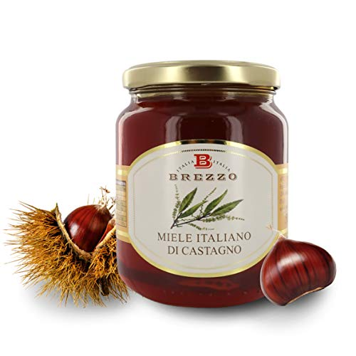 Brezzo Italienischer Honig von Kastanien, 500 g