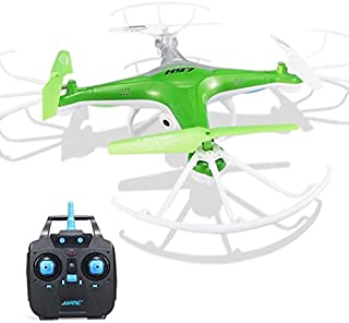 Soosch Quadcopter Aircraft Model Aircraft Remote Control Jjrc H97 2.4Ghz 4Ch 6-Axis LED with Camera Rc Quadcopter Drone (Green)