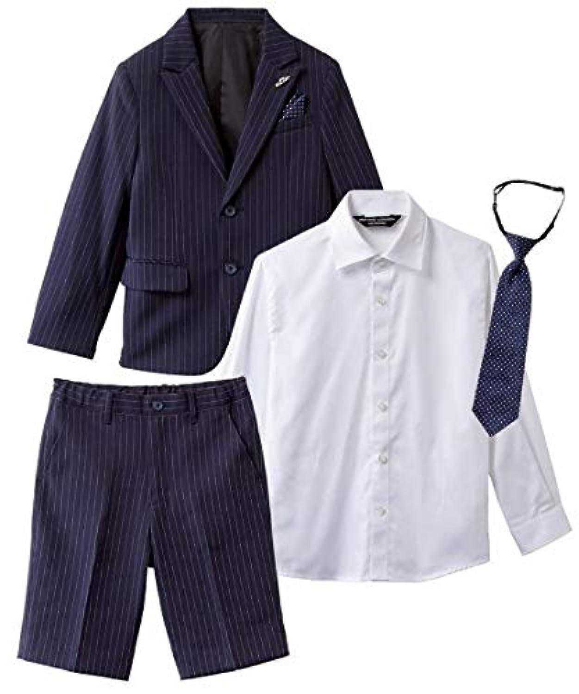[nissen(ニッセン)] 卒園式 入学式 七五三 ミチコロンドン フォーマル スーツ 3点セット 男の子 子供服 男の子 キッズ セット組