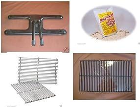 MHP JNR Gas Grill Rebuild Kit Burner SS Cooking & Briquette Grates Briquette