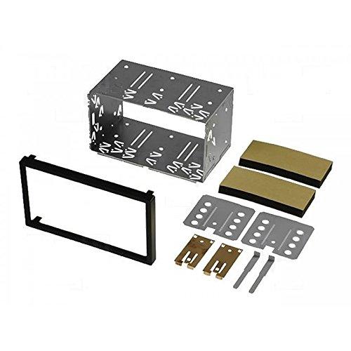 Sound-way 2 DIN Radiopaneel Metalen Frame Autoradio compatibel met Suzuki, Toyota