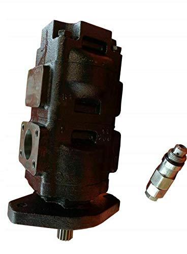 Parker/JCB 3CX Bomba hidráulica doble 332/F9029 Bomba hidráulica principal 36/26