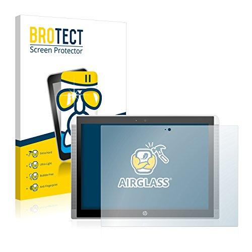 BROTECT Panzerglas Schutzfolie kompatibel mit HP Pavilion x2 12 - AirGlass, 9H Festigkeit, Anti-Fingerprint, HD-Clear