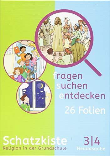 fragen - suchen - entdecken 3/4. Ausgabe Bayern: Schatzkiste (Folienmappe) Klasse 3/4 (fragen - suchen - entdecken. Ausgabe für Bayern ab 2015)