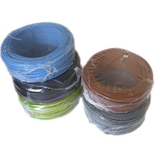 Rollo 100 mtrs cable flexible 2,5 mm² Libre de Halógeno H07Z1-K (AS)...