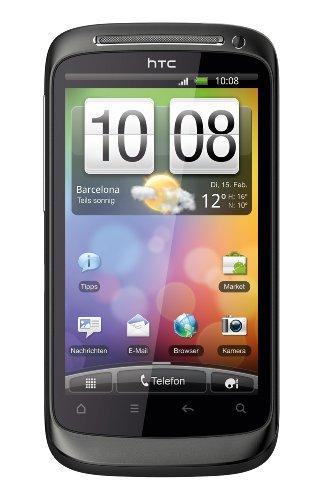 HTC Desire S Smartphone (9,4 cm (3,7 Zoll) Display, Touchscreen, 5 Megapixel Kamera, Android OS) kodak grey