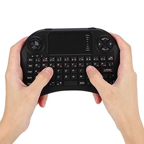 2.4GHz Keyboard, Wireless Keyboard, Black for Viboton X3 for Mac Os