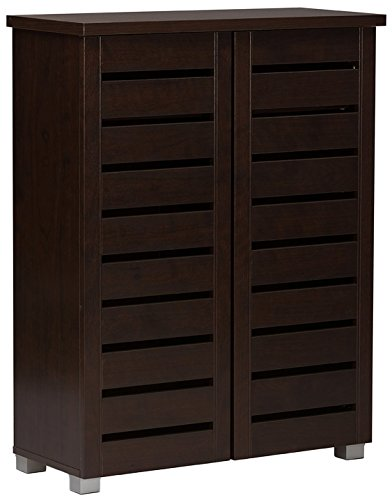 JOISCOPE Portable Shoe Storage Organzier Tower, Modular Cabinet for Space Saving, Shoe Rack Ideal for Shoes, Boots, Slippers (1x10-tier, White)