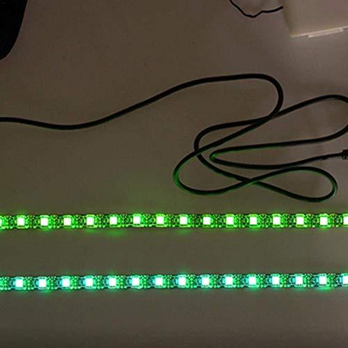 Linghuang Roller Warnung LED Streifen Taschenlampe Lampe Nacht Licht Radfahren Sicherheit Vorsicht Dauerblinklicht für Xiaomi Mijia M365 M187 Kickscooter Roller Teile Zubehör - 4