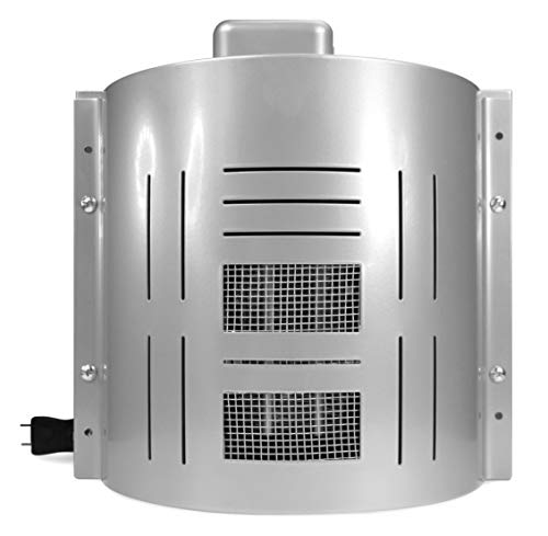 Dog House Heater Plus Model - Designed for Most Dog Houses w/ Easy D.I.Y. Installation & Adjustable Temperature Control - Suitable For All Breeds & Sizes - Anti Chew Cord Coil