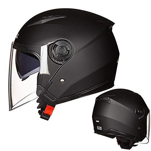 profesional ranking HO Casco de motocicleta Casco de bicicleta eléctrico Doble lente Visera abierta Hombre … elección