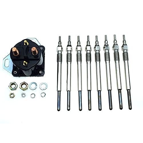 Diesel Glow Plug & Controller Kit for Ford 7.3L Powerstroke F4TZ12A342BA F81Z-12B533-AC