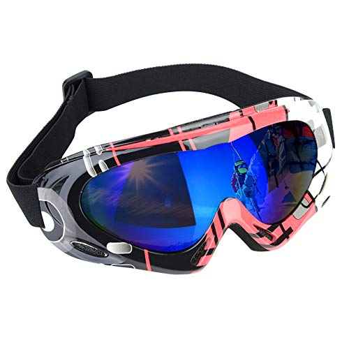 Rehomy Gafas esquí Gafas Snowboard Deportivas protección