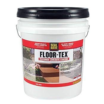 Floor -Tex 40 Textured Concrete Coating Custom Color
