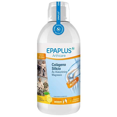 Epaplus Articulaciones Colágeno + Silicio+ Ácido Hialurónico Líquido sabor limón - 1 litro - 25 Días