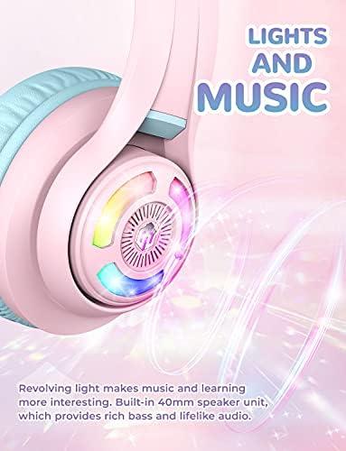 iClever, Cat Ear, Bluetooth Headphones, RGB,