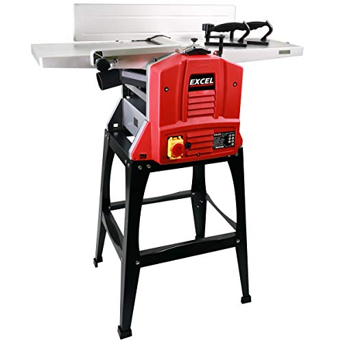 Excel 10'' 250mm Planer Thicknesser 1500W/240V with Stand