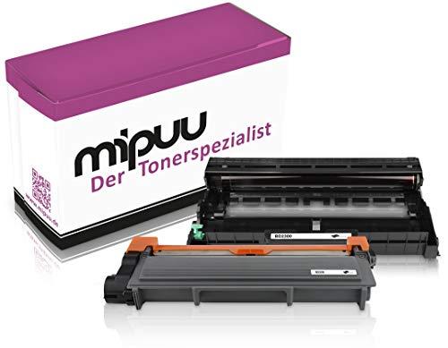 Mipuu Toner e tamburo compatibili con Brother TN-2320 DR-2300 per DCP-L2520dw HL-L2300d MFC-L2700dw HL-L2340dw MFC-L2700 MFC-L2700dn HL-L2340 HL-L2360 HL-L2360dn DCP-L2-L2360dn 500d MFC. -L2720dw