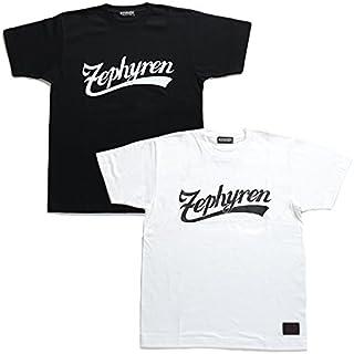 【Z16UL06】 ゼファレン Zephyren Tシャツ 半袖 かっこいい クルーネック スプラッシュプリント ペイント アメカジ 大きいサイズ 正規品 黒 白