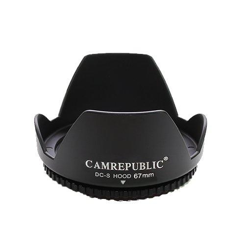 CamRepublic - Parasol reversible para Nikon AF-S DX Nikkor 1