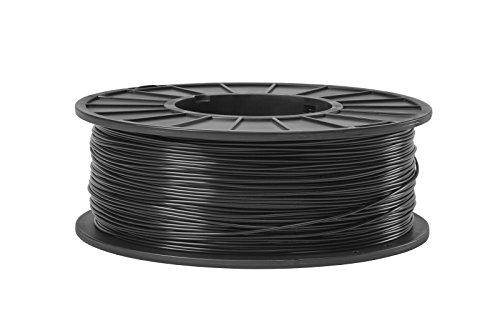 ABS 3D Filament 1.75mm Diameter - Black -5lb