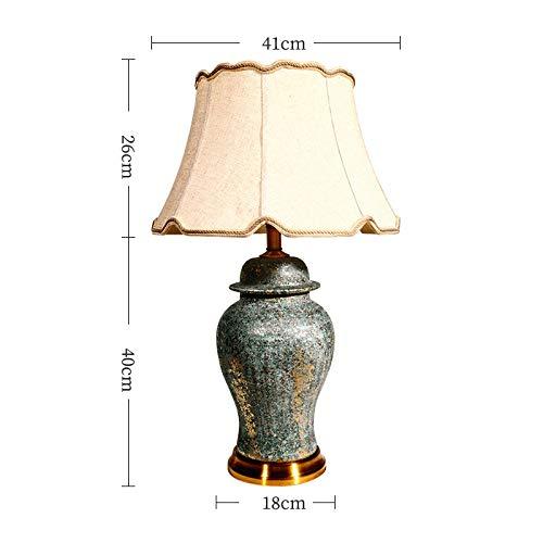 Zenghh Regalo Flotante Tabla Oro de Bling lámpara de Escritorio Pasado de Moda del Suelo Sucio Diseño de Estar Comedor Dormitorio de Noche luz de la Noche E27 Ganchillo artesanía Lino Pantalla for la