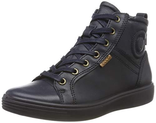 Ecco Unisex-Kinder S7 TEEN Hohe Sneaker, Blau (Night Sky 1303), 37 EU
