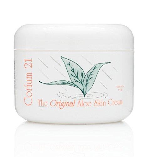 Corium 21 Aloe Vera Skin Cream  8oz Jar