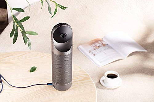 KanDao Meeting Pro 360° Conference Camera with Auto Speaker Focus (with Bluetooth Remote Control) , HDMI and USB Conference system in Zoom, Skype, Cisco, WebEx, Microsoft Team.