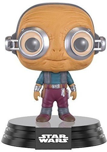 Funko Pop!- Bobble: Star Wars: E7 TFA: Maz Kanata, Color, tamano estandar (9621)