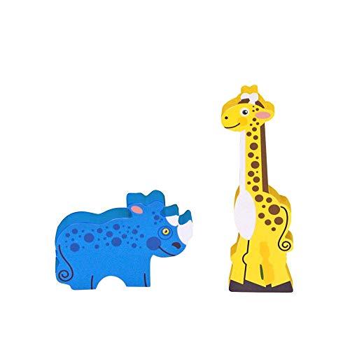Melissa & Doug Safari Wooden Chunky Puzzle (8 pcs)