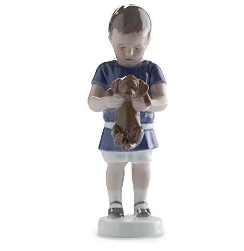 ROYAL COPENHAGEN BIMBO CON CANE CHILD AND DOG 1021422