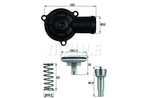 Behr-Thermot-Tronik TI22087D Thermostat, Kühlmittel