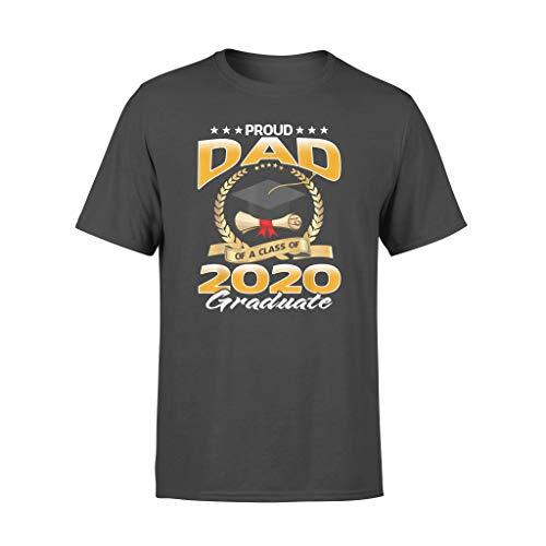 AMIROSSI Proud Dad of A Class of 2020 Graduate - Maglietta standard Nero S