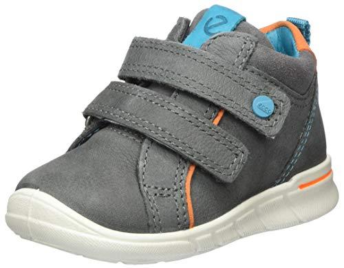 Ecco Baby Jungen FIRST Sneaker, Grau (Dark Shadow 2602), 24 EU