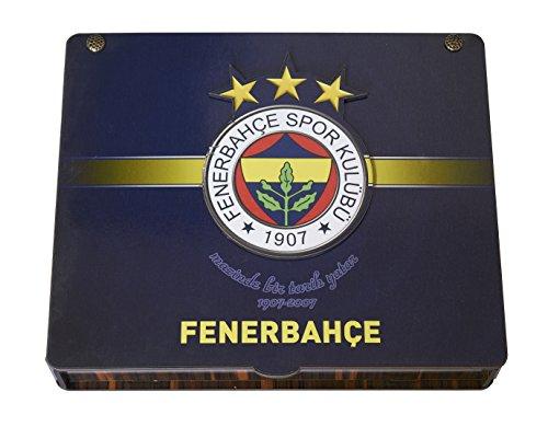 Gök-Türk Handgemachte Geschenkbox Schatulle 'Fenerbahce FB' für Fußballfans