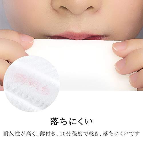 SIXPLUSリップティントマット感リキッドリップスティック日本製2mL(M01)